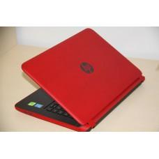 โน๊ตบุ๊คมือสอง แดง ๆ HP 14-v225TX i5-5200u HD1TB SSD8 DDR 8GB Nvidia GT840 2GB จอทัช